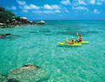 Photo: Sea kayak around Lizard Island
